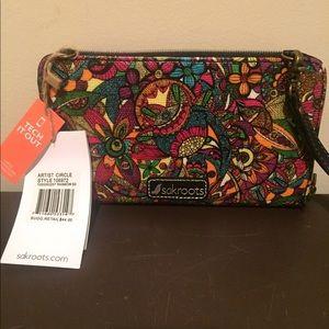 Sakroots Artist Circle Style purse